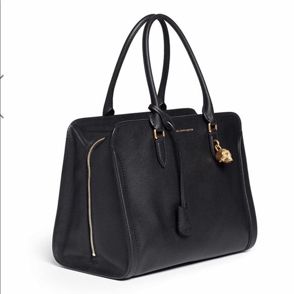 13dde7d872 Alexander McQueen Handbags - Alexander McQueen Large Padlock leather toteNWT